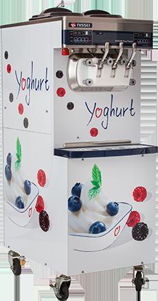 Duo power frozen yoghurt